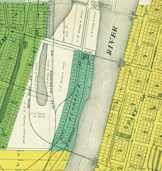 florence saginaw map
