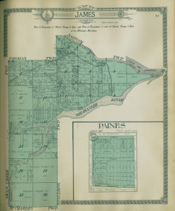James township plot map
