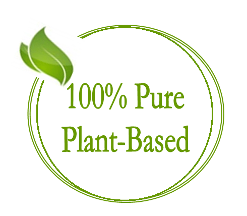 100% pure plant based - purity is our priority