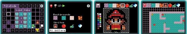 TileCode screens