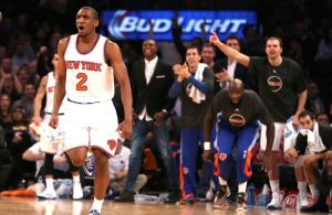 Credit: Adam Hunger-USA TODAY Sports ... Galloway has given the Knicks a much needed boost