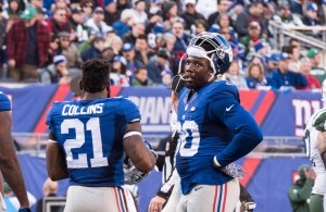 Jason Pierre-Paul will finally get some help this year, but will it be enough to mask the weakness of the D. (photo credit: Bobby O'Hara/PureSportsNY)