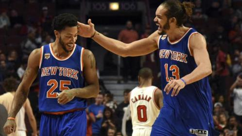 (Photo Credit: David Banks-USA TODAY Sports) Rose and Noah played well in their return to Chicago.