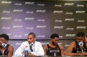 Coach Jordan/Butler Players Postgame