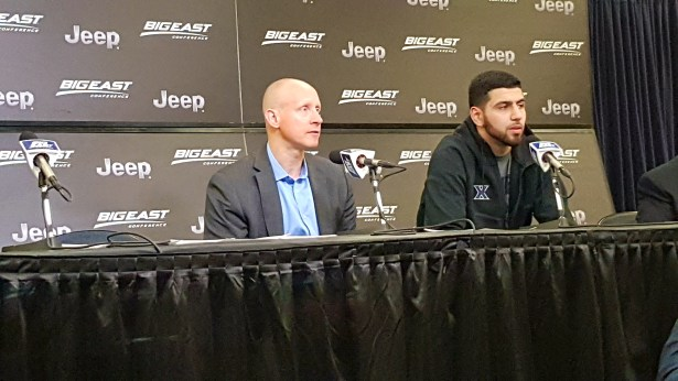 Coach Chris Mack/Kerem Kanter addressing the loss to Providence in the Big East tournament