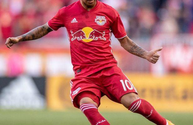 Kaku Romero-Gamarra. Credit to New York Red Bulls.