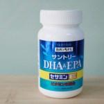 【SUNTORY三得利】魚油 DHA&EPA+芝麻明E—思緒清晰、安心入睡就靠它!