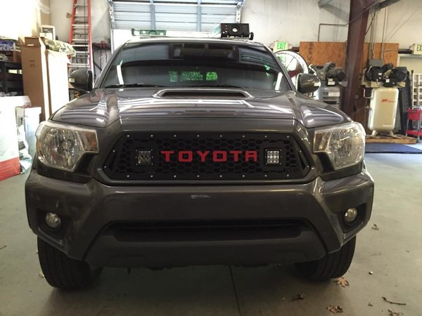 Accessories Toyota Tacoma Grills 2017