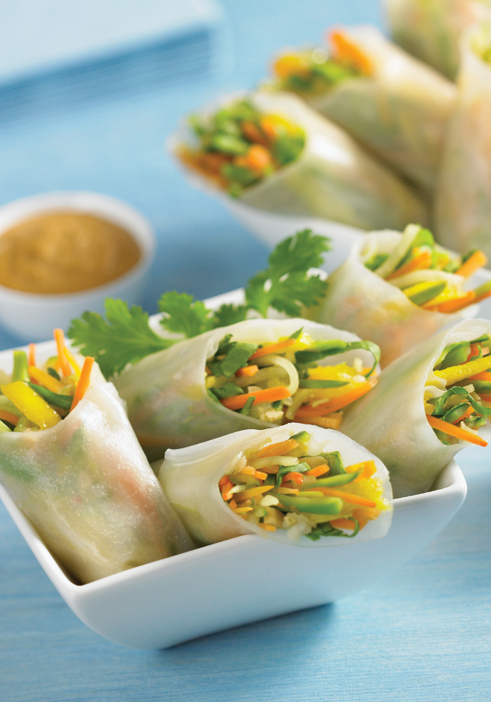 VegetarianVietnameseFreshRoll