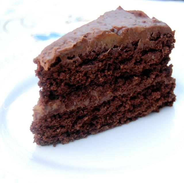 Chocolatelove Bloghop Vegan Chocolate Cake Happy Birthday To Me