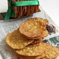 Crispy Masala Poori (step by step)
