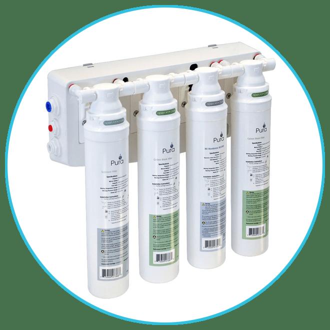 Pura Aqua Flo PLatinum Reverse Osmosis System