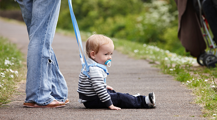 Image result for child on a leash