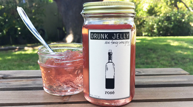 Rosé Jelly is the Pantry Staple You Never Knew You Needed