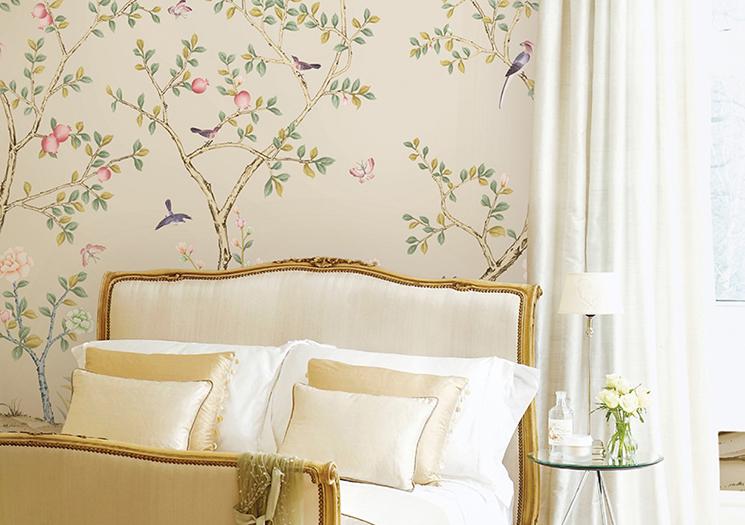 floral removable wallpaper large