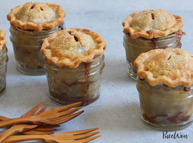 Mini Cheesecake Baskets