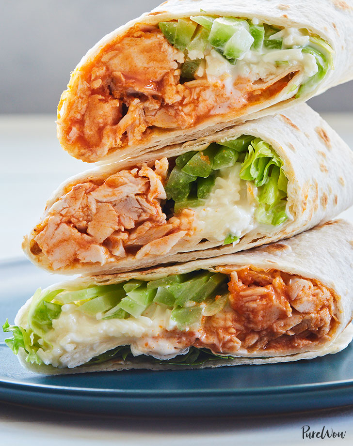 creamy buffalo chicken wraps recipe 921