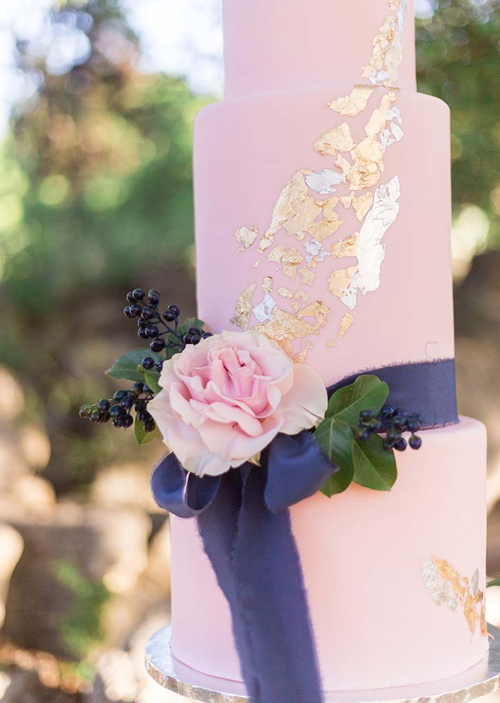 ribbon trim cake trend 728