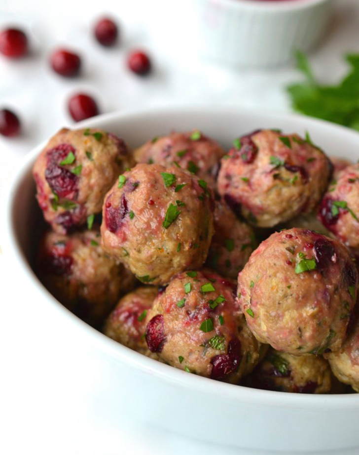 turkey cranberry meatballs cranberry orange sauce recipe
