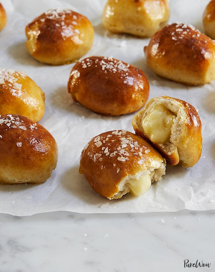 brie stuffed pretzel bites recipe1