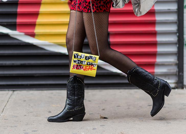 flat cowboy boots