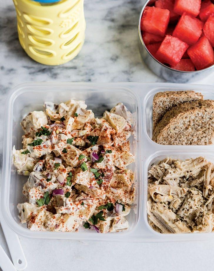 meal prep mayo less potato salad recipe 921