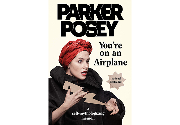 youre on an airplane parker posey