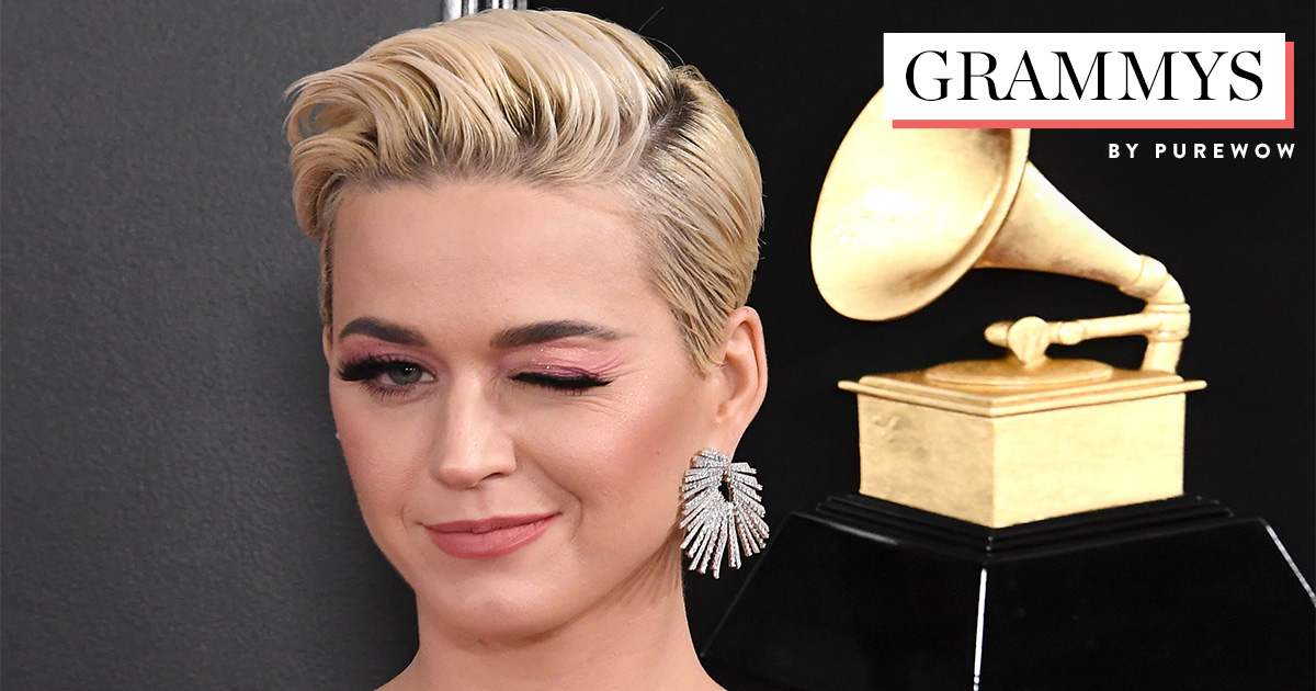 Katy Perry Responds To Memes Trolling Her Grammy S Dress Purewow