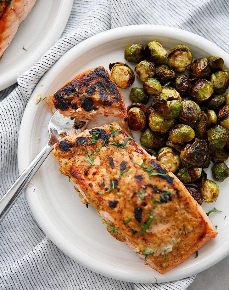 3 Ingredient Dijon Salmon recipe