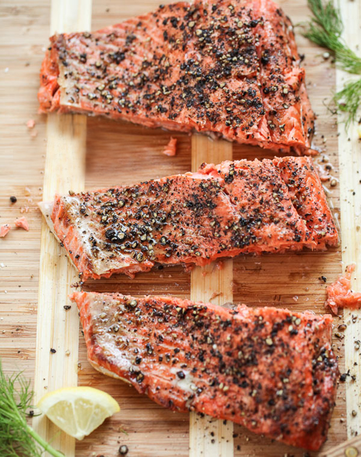 grilled salmon fillet cucumber dill sauce recipe