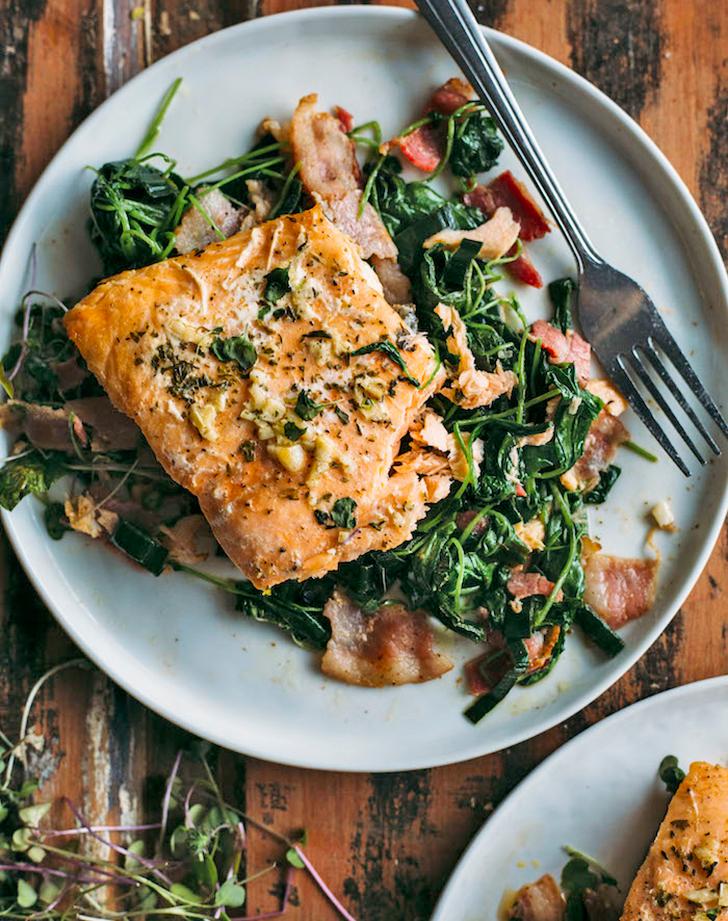 whole30 salmon watercress recipe