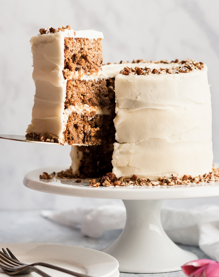 the best healthy carrot cake recipe