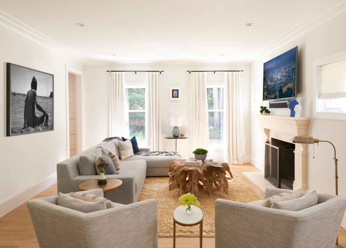 family room decorating ideas painting across tv