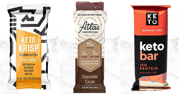10 Keto Bars That Are Full of Flavor and Protein (Not Carbs)