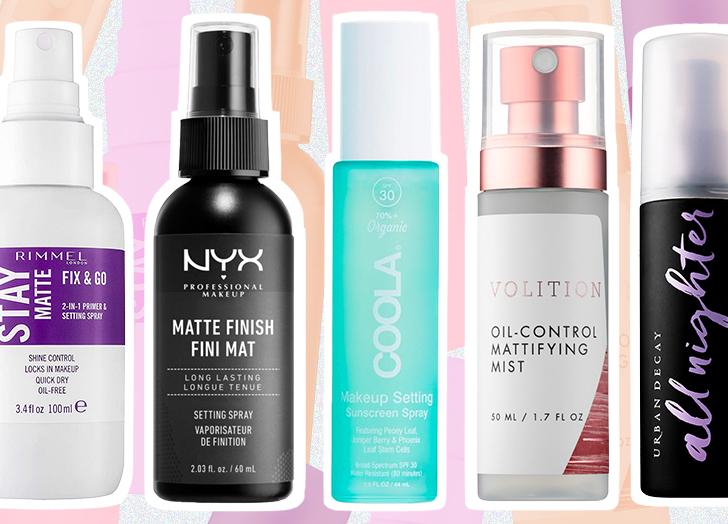 6 Best Setting Sprays For Oily Skin