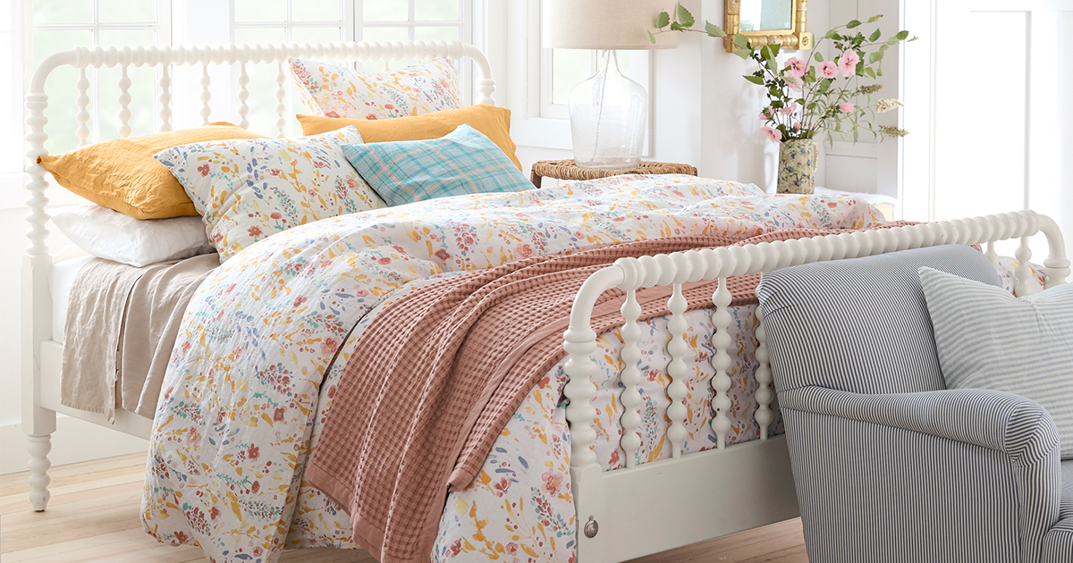 bedding for linen this spring