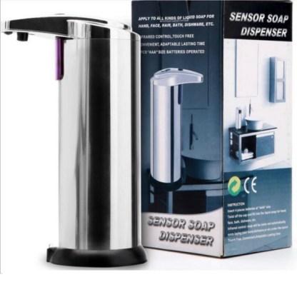 doseador automático com sensor