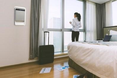 purificateur d'air pour chambre d'hotel