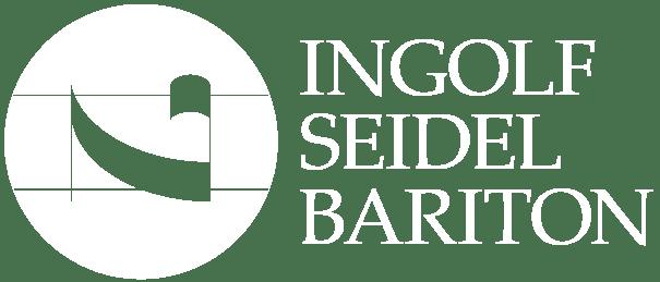 Logo weiß Ingolf Seidel - Bariton - Dresden