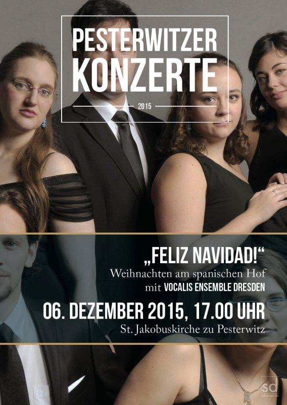 Programmflyer Pesterwitzer Konzerte