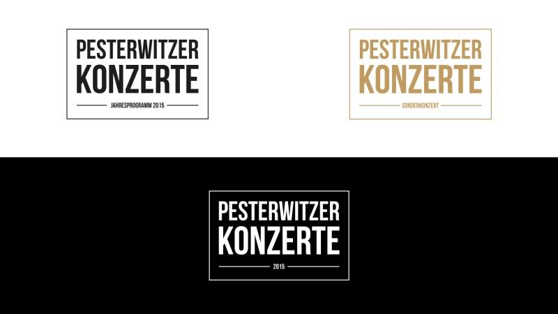 Logo Varianten Pesterwitzer Konzerte