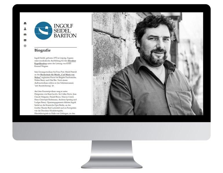 Screenshot Webseite Ingolf Seidel - Bariton - Dresden http://ingolf-seidel.de