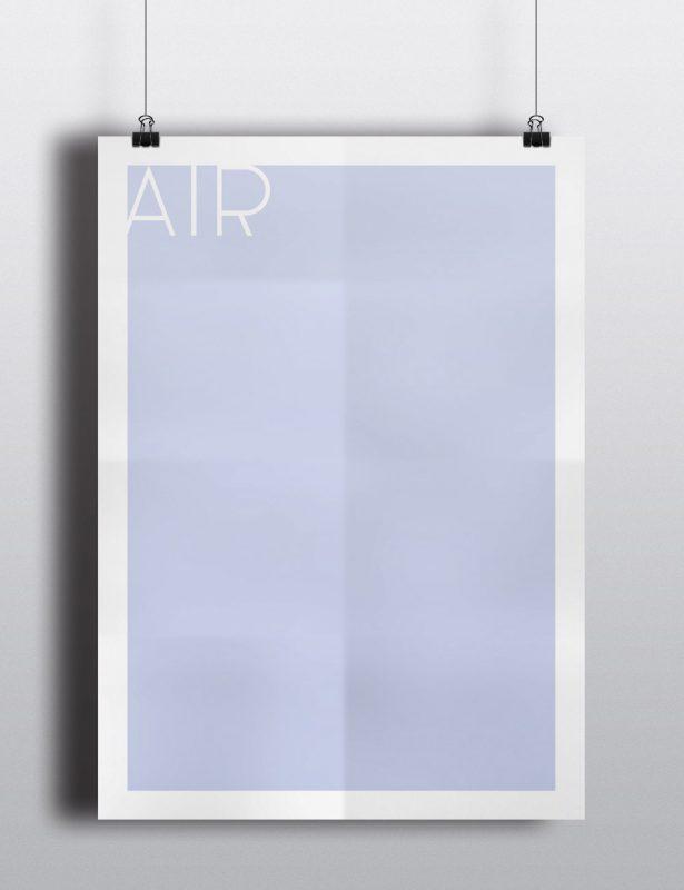 Poster - Die vier Elemente - Luft
