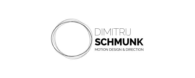 Logo Dimitrij Schmunk - Motion Design & Direction - Wort-Bildmarke