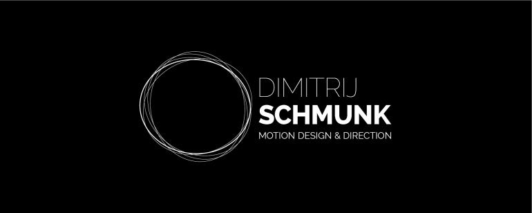 Logo Dimitrij Schmunk - Motion Design & Direction - Wort-Bildmarke II