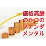 【仮想通貨】簡単!価格が高騰する5つのファンダメンタル!最新情報!
