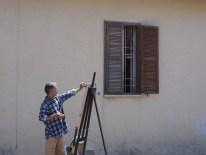 Maler in Tel Aviv