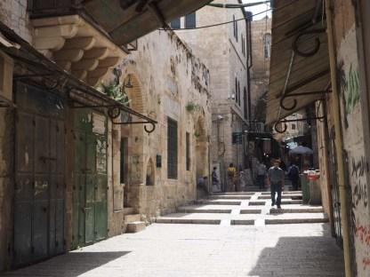 In der Altstadt von Jerusalem