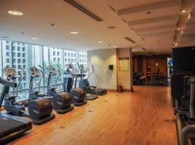 Fitness Raum im Shangri-La Hotel, Vancouver
