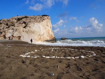 Zypern Aphrodite Felsen